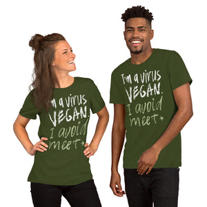 Virus Vegan Unisex T-Shirt
