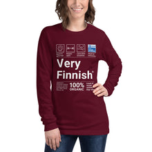 Load image into Gallery viewer, Very Finnish service manual Long Sleeve Tee
