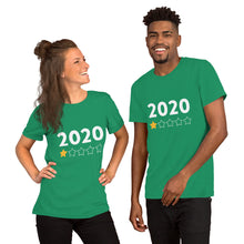 Load image into Gallery viewer, 2020 rating short-sleeve unisex T-Shirt