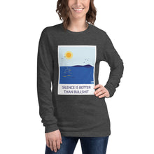 Load image into Gallery viewer, Silence is better than...  Long Sleeve Tee