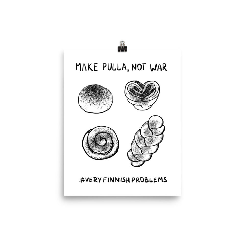 Make Pulla Not War Poster