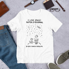 Load image into Gallery viewer, Outer & Personal Space Unisex T-Shirt
