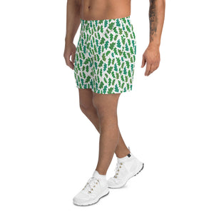 Forest Leaves Men's Athletic Shorts
