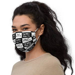 Not Anti-Social but Pro-Health Face mask