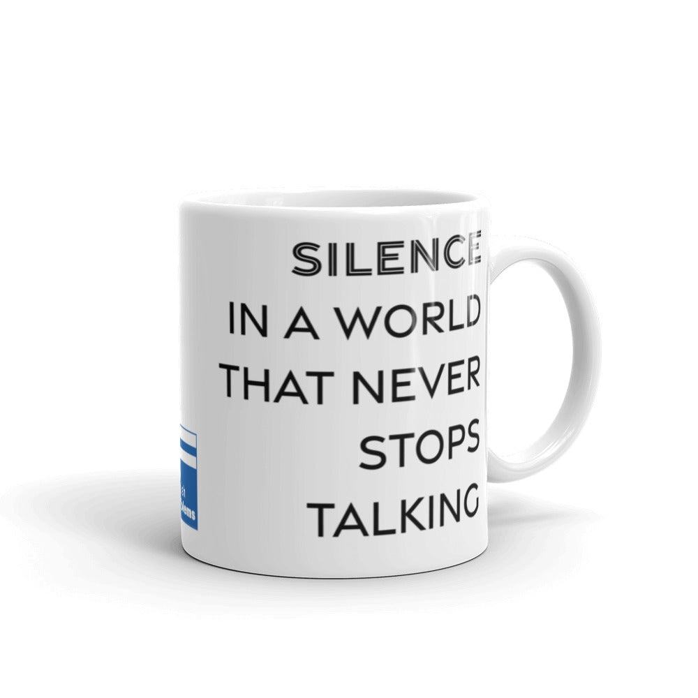 Not Unhappy Just Silent Mug