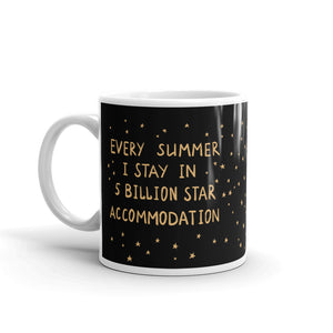 5 Billion Star Accommodation Mug