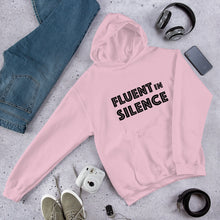 Load image into Gallery viewer, Fluent in Silence Unisex Hoodie