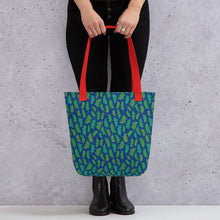 Load image into Gallery viewer, Forest Leaves Tote bag