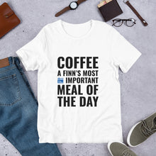 Load image into Gallery viewer, Coffee Meal of the Day Unisex T-Shirt