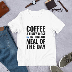 Coffee Meal of the Day Unisex T-Shirt
