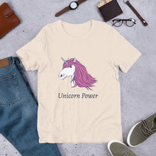 Load image into Gallery viewer, Unicorn Power Unisex T-Shirt