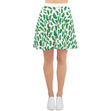 Load image into Gallery viewer, Forest Leaves Skater Skirt