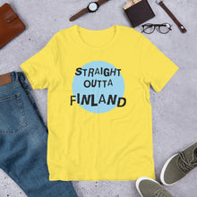 Load image into Gallery viewer, Straight Outta Finland Unisex T-Shirt