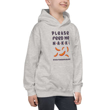 Load image into Gallery viewer, Feed me nakkis Kids Hoodie