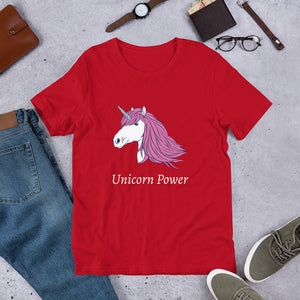 Unicorn Power Unisex T-Shirt