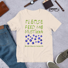 Load image into Gallery viewer, Feed Me Mustikka Unisex T-Shirt