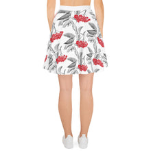 Load image into Gallery viewer, Beautiful Berries Skater Skirt