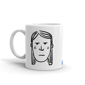Finnish Face Female Mug