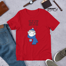 Load image into Gallery viewer, Air Hurts My Face Unisex T-Shirt