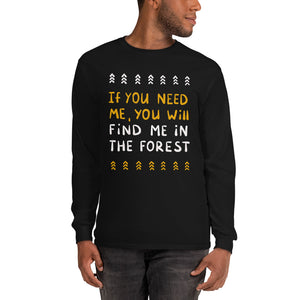 Forest person Men's Long Sleeve Shirt