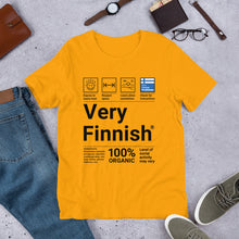 Load image into Gallery viewer, Very Finnish Service Manual Unisex T-Shirt