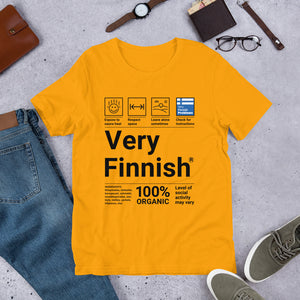Very Finnish Service Manual Unisex T-Shirt