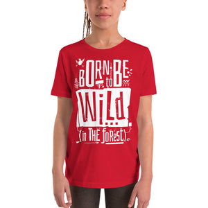 Born to be Wild Youth Short Sleeve Tee