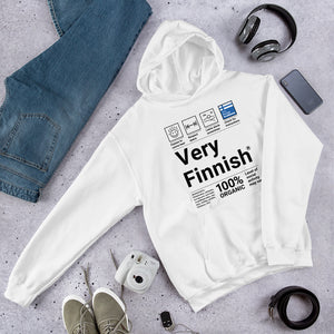 Very Finnish Service Manual Unisex Hoodie