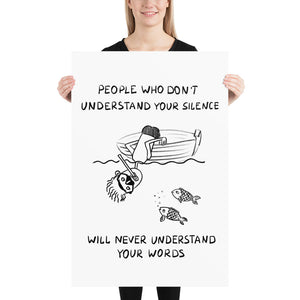 Understand Your Silence Poster