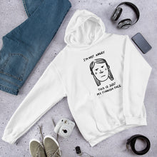 Load image into Gallery viewer, Finnish Face Female Unisex Hoodie