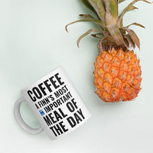 Load image into Gallery viewer, Coffee Meal of the Day Mug