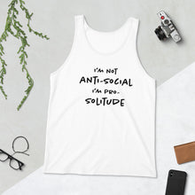 Load image into Gallery viewer, Pro Solitude Unisex Tank Top