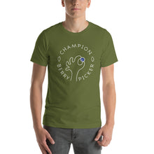 Load image into Gallery viewer, Champion Blueberry Picker Unisex T-Shirt