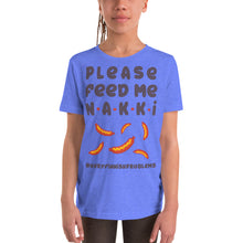 Load image into Gallery viewer, Feed Me Nakki Youth Short Sleeve T-Shirt