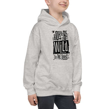 Load image into Gallery viewer, Born to be Wild Kids Hoodie