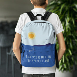 Silence is Better Backpack