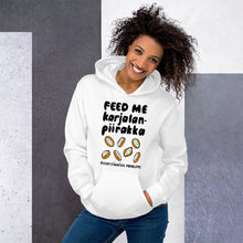 Load image into Gallery viewer, Feed Me Karjalanpiirakka Unisex Hoodie