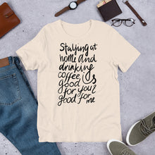 Load image into Gallery viewer, Coffee is good for you + me Unisex T-Shirt