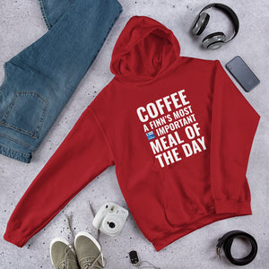Coffee Meal of the Day Unisex Hoodie