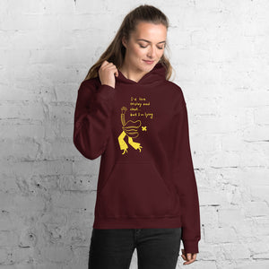 I would love to stay but... Unisex Hoodie