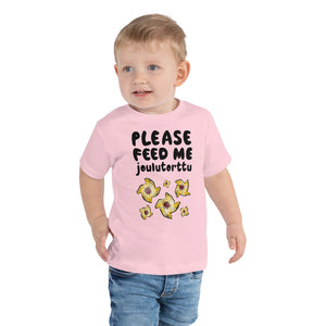 Feed me Joulutorttu Toddler Short Sleeve Tee