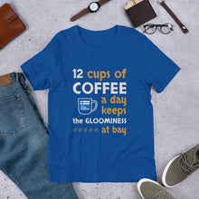 Load image into Gallery viewer, Minimum Coffee Needed for Happiness Unisex T-Shirt