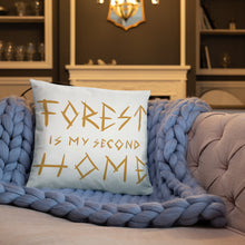 Load image into Gallery viewer, Forest is my 2nd Home Basic Pillow