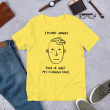 Load image into Gallery viewer, Finnish Face Male Unisex T-Shirt