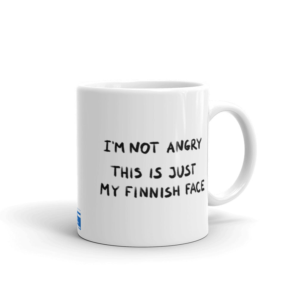 Finnish Face Male Mug