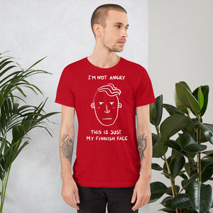 Finnish Face Male Unisex T-Shirt