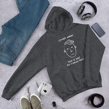 Load image into Gallery viewer, Finnish Face Male Unisex Hoodie