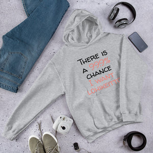 99.9 chance of lohikeitto Unisex Hoodie