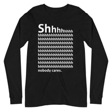 Load image into Gallery viewer, Shhh Long Sleeve Tee