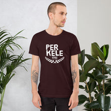 Load image into Gallery viewer, Perkele 100% proof Unisex T-Shirt